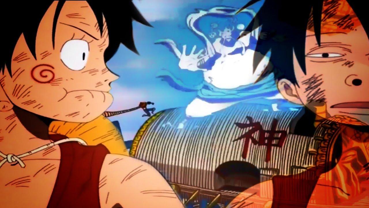 Amv One Piece Fullfight Monkey D Luffy Vs God S Enel