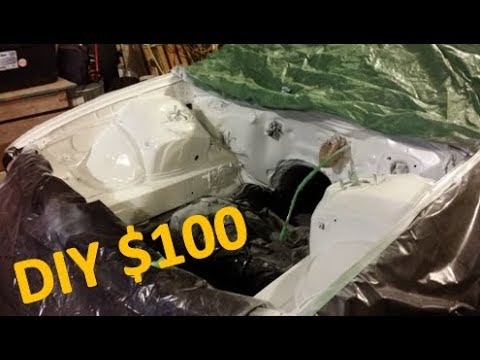 DIY Shaving And Painting An Engine Bay