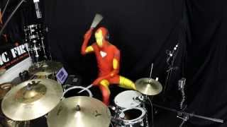 Video Iron Man - Drum Cover - Black Sabbath - Halloween Cover download MP3, 3GP, MP4, WEBM, AVI, FLV Oktober 2017