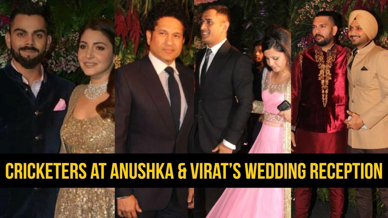 indian cricket players anushka and virat wedding