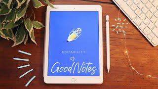 GoodNotes 5 vs. Notability 8 // iPad an der Uni