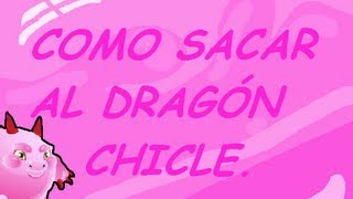 Como sacar al dragón chicle (DRAGON CITY)