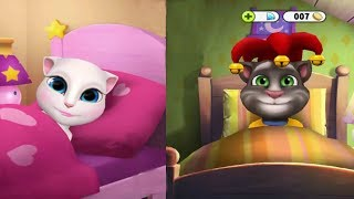 Talking Tom and Angela - The cat Angela and the cat Tom Grow Together from the Beginning.