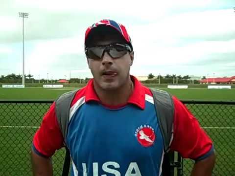 USA U-19 vs. Cayman Islands U-19 Post Match Interview with Robin Singh