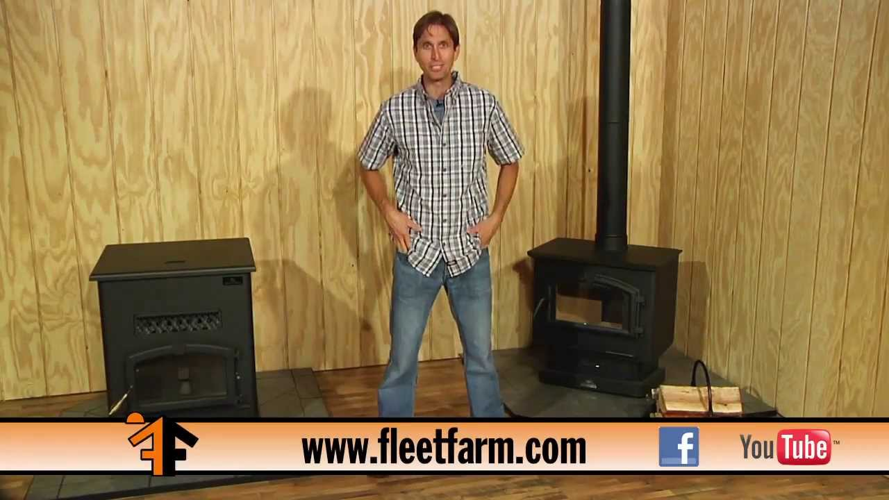 Pellet vs. Wood Burning Stoves- Mechanical Minute with Carpenter Kline -  YouTube - Pellet Vs. Wood Burning Stoves- Mechanical Minute With Carpenter