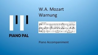 Warnung Mozart Accompaniment
