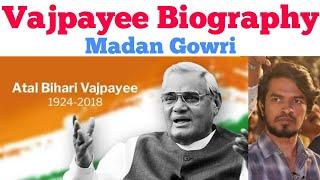 Vajpayee Biography | Tamil | Madan Gowri