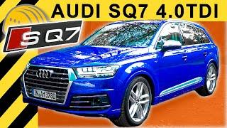 So fährt das SCHNELLSTE Diesel SUV der WELT! 435PS & 900Nm! AUDI SQ7 V8 TDI TEST