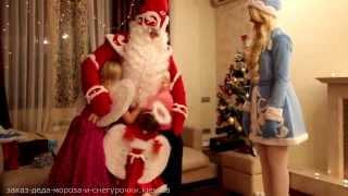 видео Дед мороз и снегурочка на дом, корпоратив в Василькове