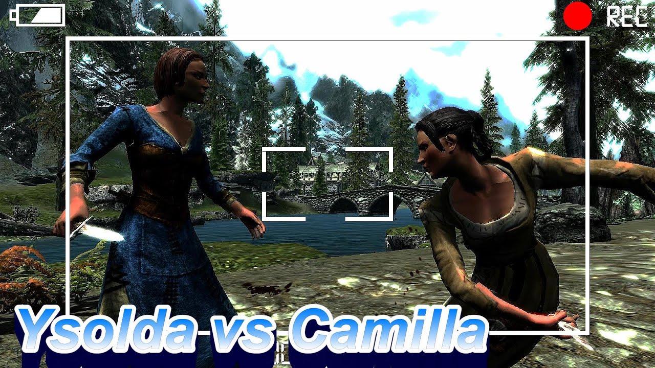 Skyrim Battles - Ysolda vs Camilla Valerius [Legendary Settings]