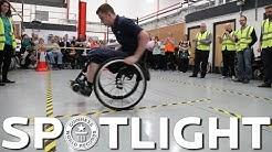 Most manual wheelchair spins - Spotlight