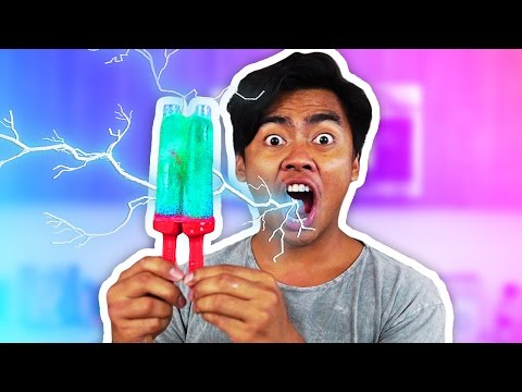 DIY SUPER SOUR POPSICLE SLUSHIE!