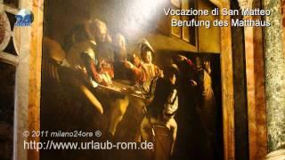 Die Werke von Caravaggio in den Kirchen Roms