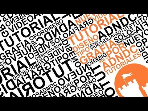CorelDRAW Diseño con tipografía Tutorial Premium @adndc @adanjp