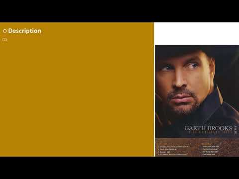 Garth Brooks The Ultimate Hits More