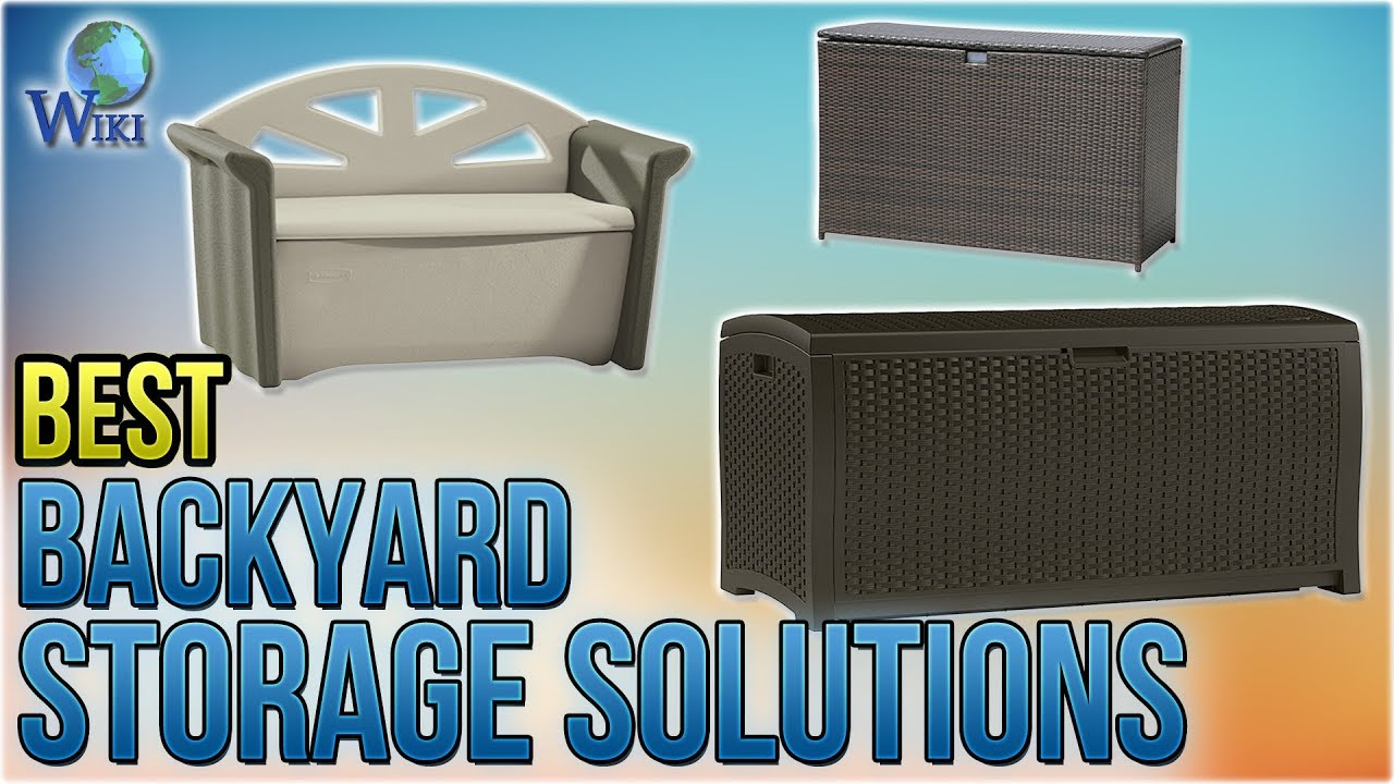 10 Best Backyard Storage Solutions 2018