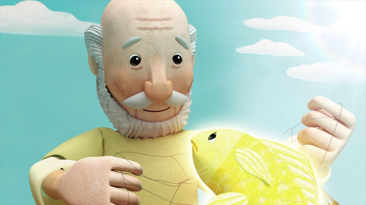 Teaser Dongeng Animasi 3d Nelayan Dan Ikan Emas Youtube