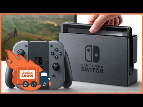 Switch Back in Stock, Terminator Rebooted - Kinda Funny Morning Show 03.22.17