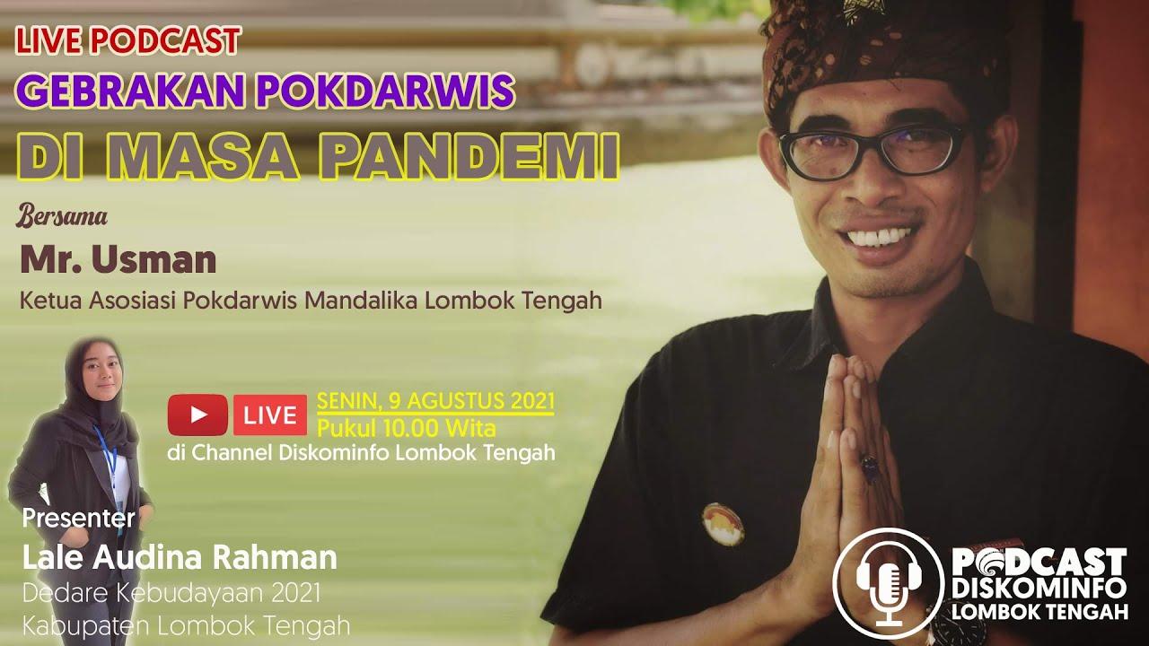 Download LIVE PODCAST GEBRAKAN POKDARWIS DI MASA PANDEMI ‼️