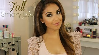 Drugstore Fall Smoky Eye Tutorial + Outfit
