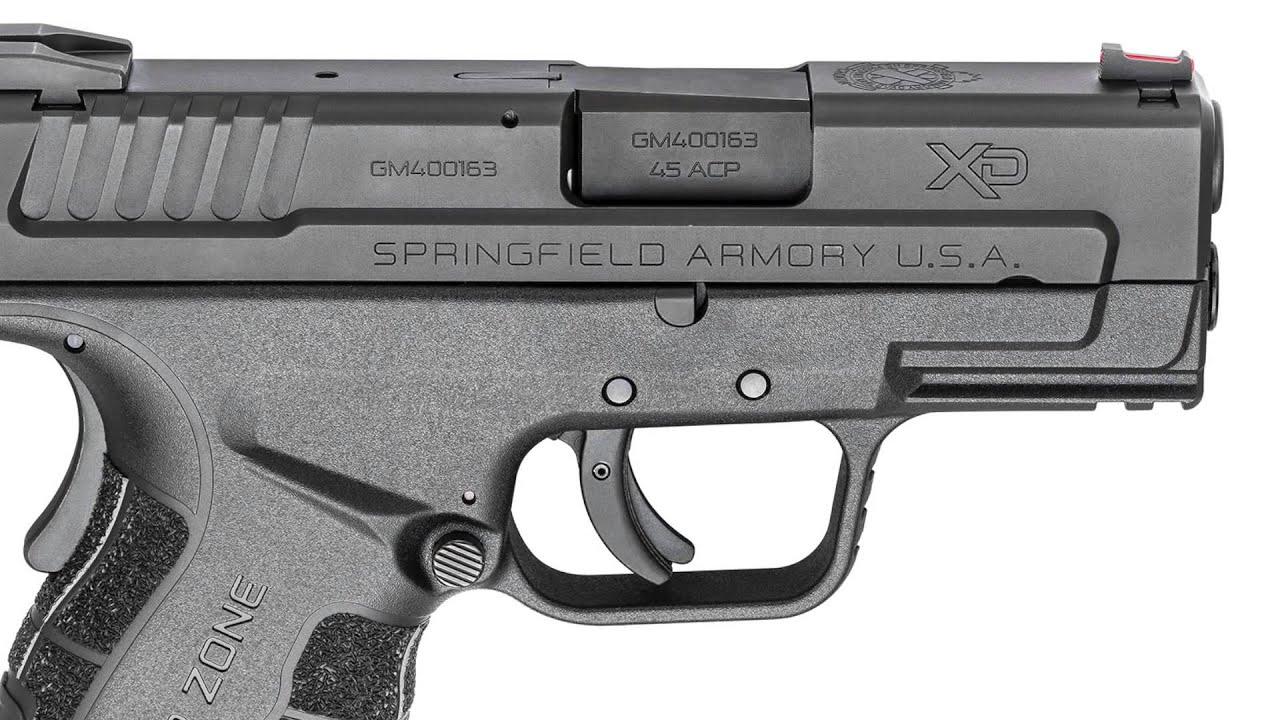 Gun Tests SHOT 2015 Springfield Armory XD Mod 2 45 ACP - YouTube