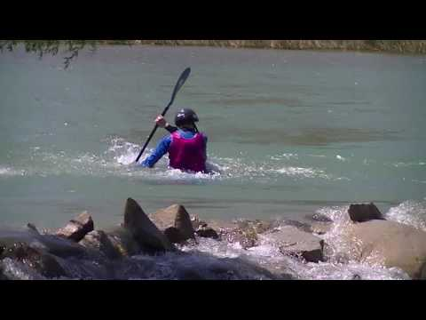 2016 ICF Freestyle Kayak World Cup 1 Winning Run - Alex Edwards