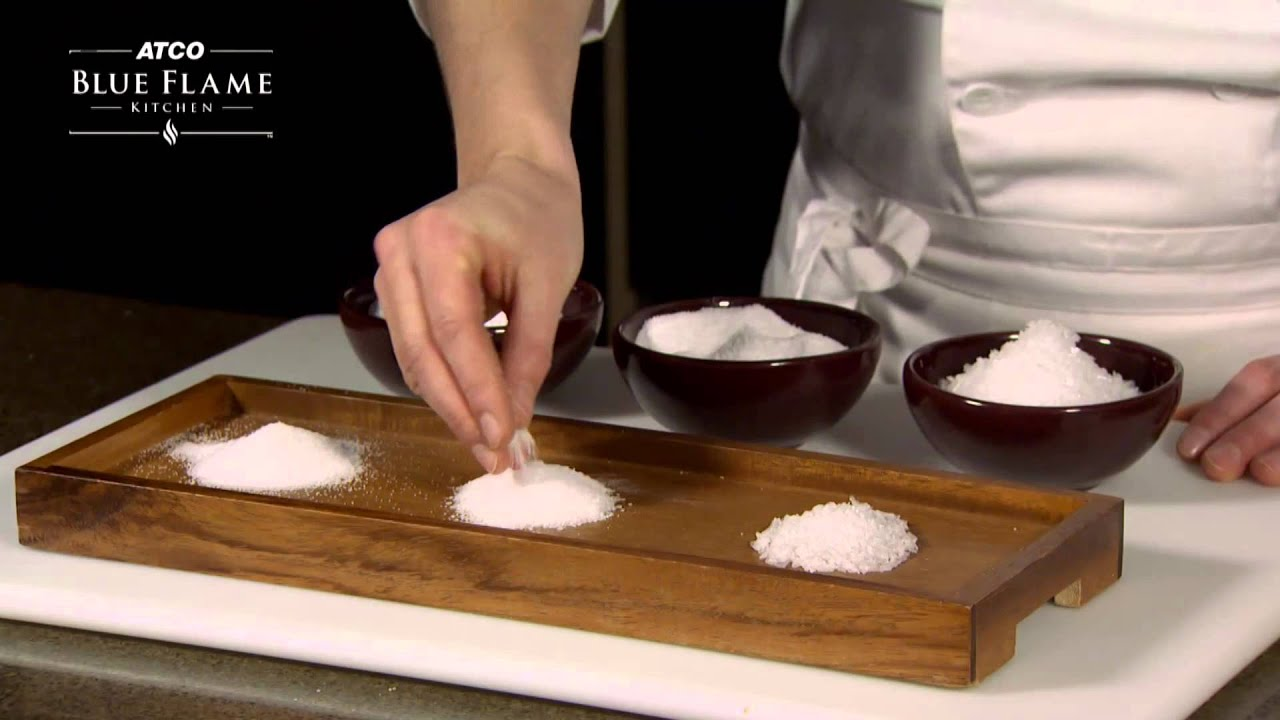 Blue Flame Kitchen Calgary Different Types Of Salt For Cooks