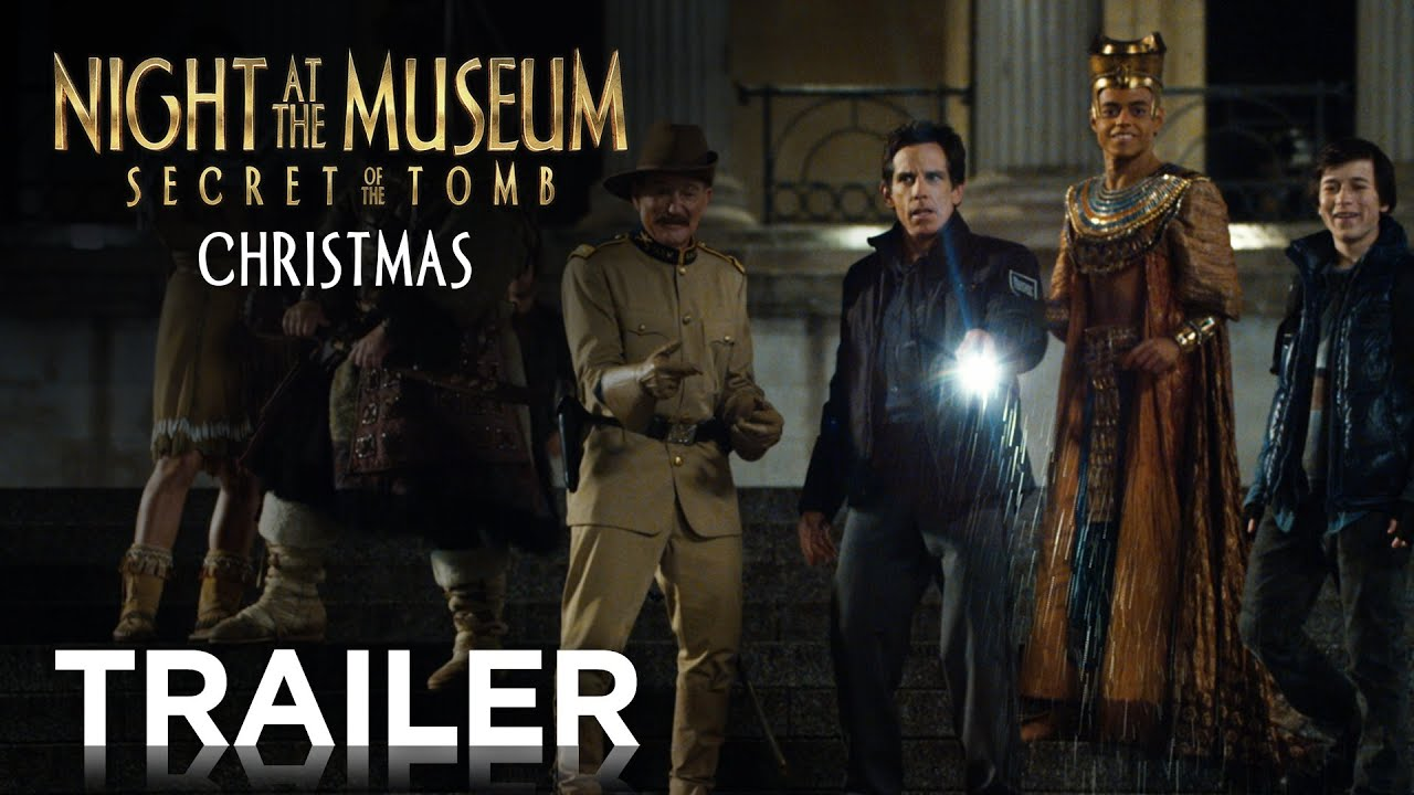 night at the museum: secret of the tomb | official final trailer