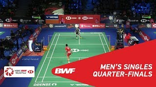 QF | MS | CHOU Tien Chen (TPE) [4] vs SON Wan Ho (KOR) [6] | BWF 2018