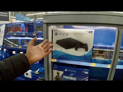 I Bought A New PS4 From Walmart