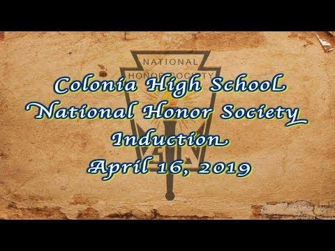 Colonia High School, National Honor Society: 2019
