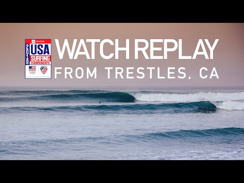 2019 Toyota USA Surfing Championships at Lower Trestles, CA