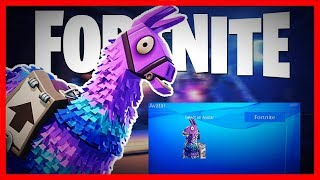 how to get a fortnite lama as yor avatar