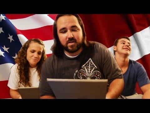 Americans Speaking Latvian Language