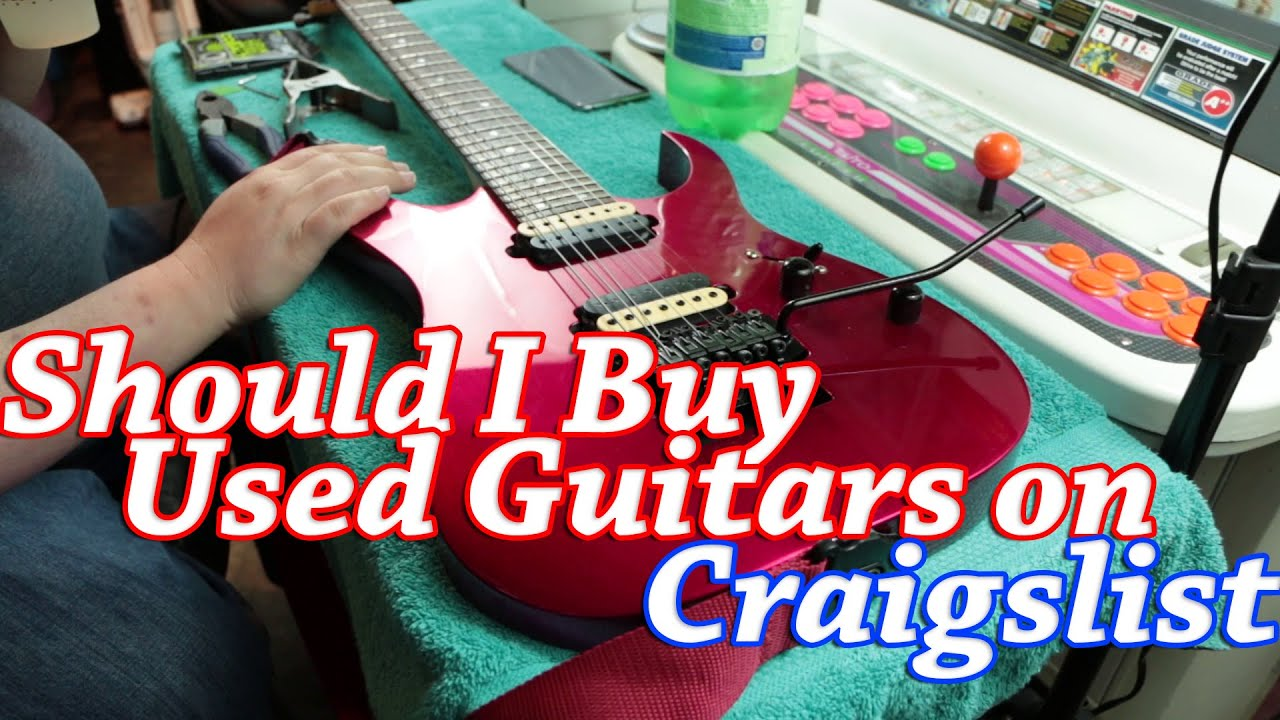 should you buy a used guitar on craigslist ibanez 7420mc youtube. Black Bedroom Furniture Sets. Home Design Ideas