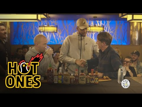 Tony Hawk Eats Spicy Wings LIVE at ComplexCon   Hot Ones