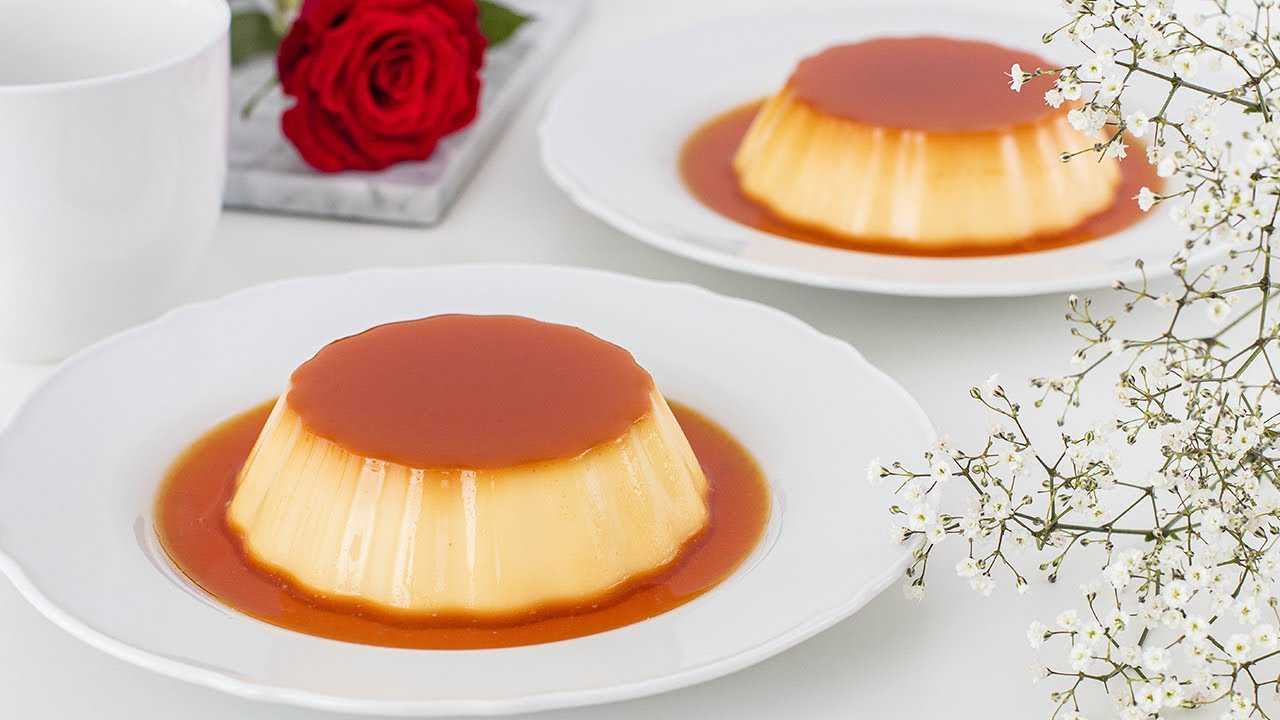 FLAN casero SIN HORNO y con SOLO 3 ingredientes - Tan Dulce