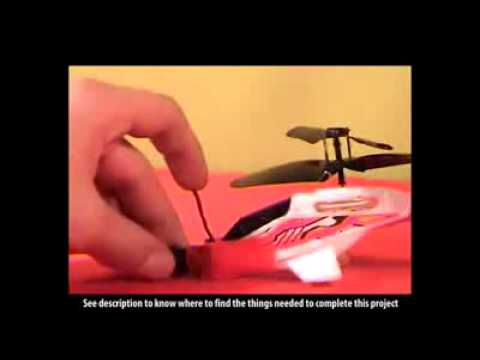 How to make Spy Helicopter Camera at Home Free Online