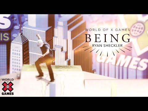 Ryan Sheckler: BEING   World of X Games