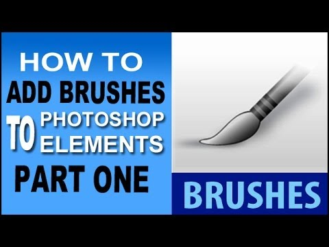 Install Brushes In Photoshop Elements
