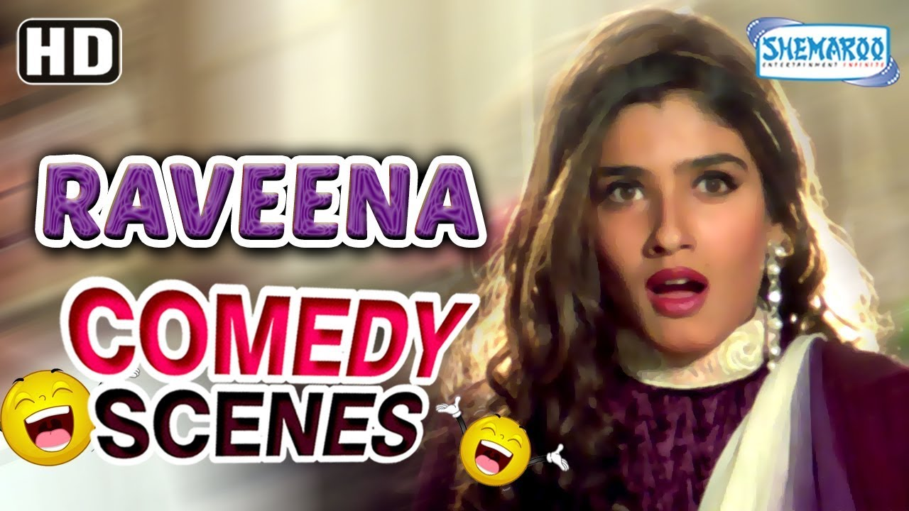 Best Of Raveena Tandon Scene From Dulhe Raja Hd Govinda Kader