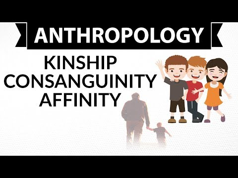 Anthropology Optional UPSC  - Kinship consanguinity affinity- UPSC / IAS Mains