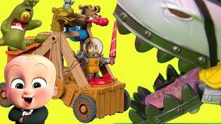 Губка Боб Квадратные Штаны #Мультик Spongebob Squarepants СЭНДИ ПРОТИВ ПИРАТОВ! #Босс Молокосос