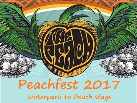 Peachfest 2017 Waterpark to Peach stage.