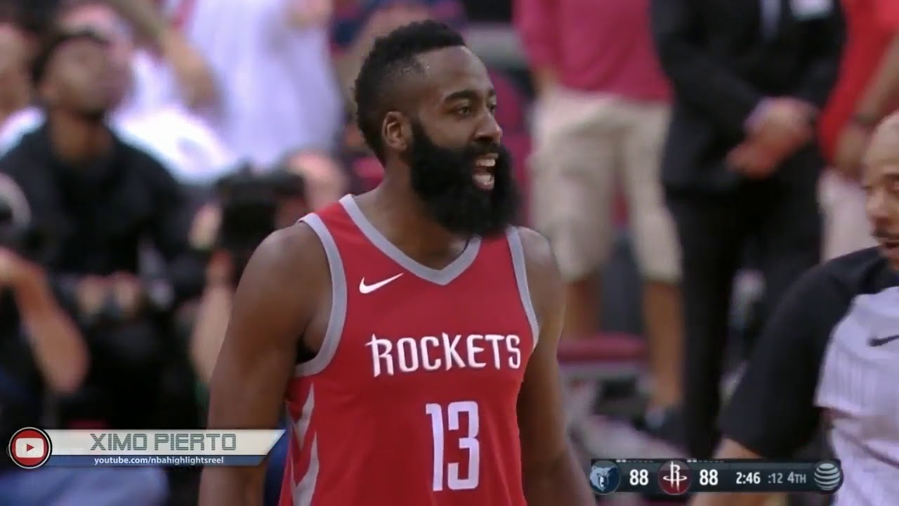15c3356acc5c James Harden SQUARES UP and ALMOST FIGHTS With Mario Chalmers - YouTube
