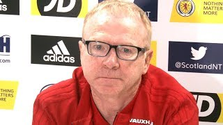 Alex Mcleish Press Conference Ahead Of Scotland's Clash Against Israel