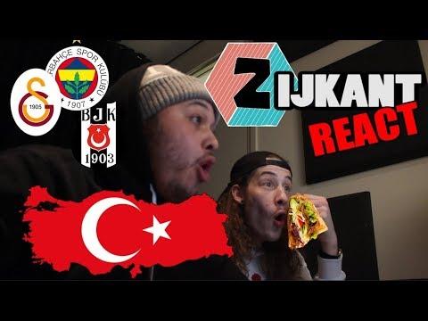 FIRST REACTION TO TURKISH RAP // Ezhel - Geceler // ZIJKANT (DUTCH + Turkish subtitles)
