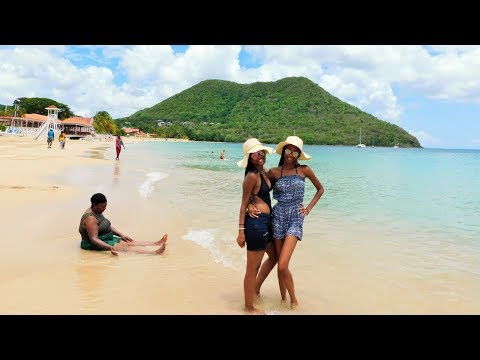 TRAVEL WITH ME|| We in st.Lucia baby!
