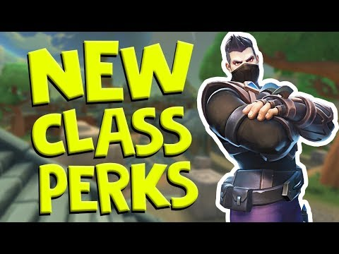 NEW Class System in Realm Royale! How does it work?