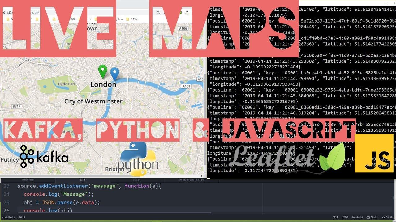 Realtime Maps - Kafka CLI Producer and Consumer (4)